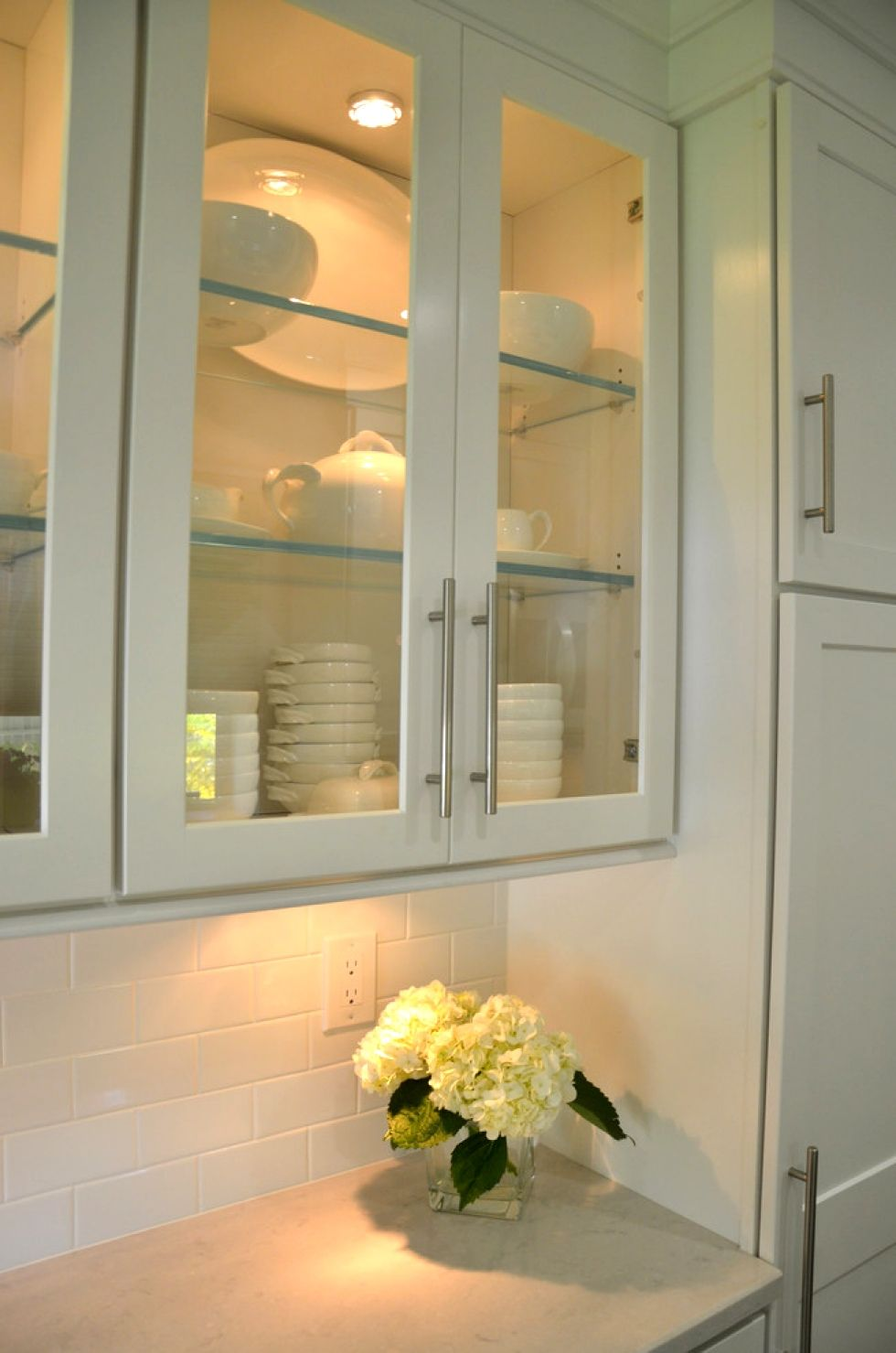 Lights Inside Glass Cabinets Google Search Glass Cabinet Best Kitchen Designs Flat Panel Cabinets