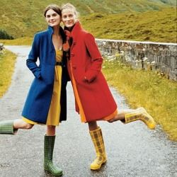 wellies coat dress