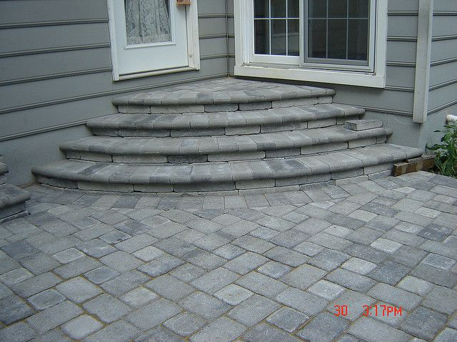 Patio Paver 6x9 And 6x6 Natural Charcoal Diy And