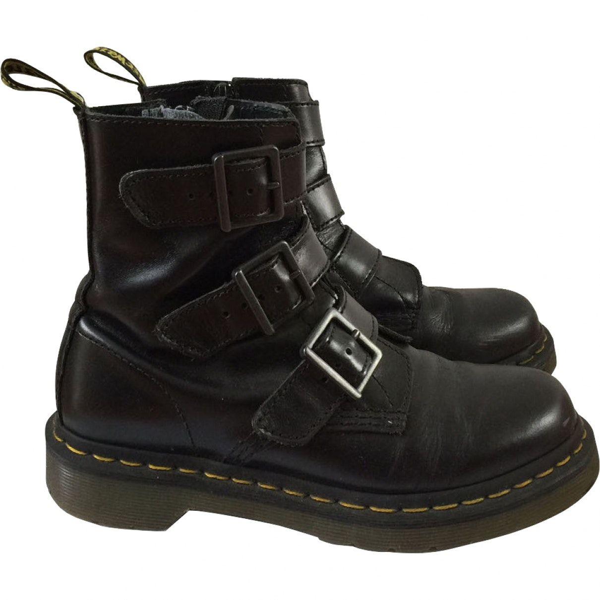 Leather buckled boots   Inspiration tenu   Pinterest   Dr martens ... ba74bcadbf49