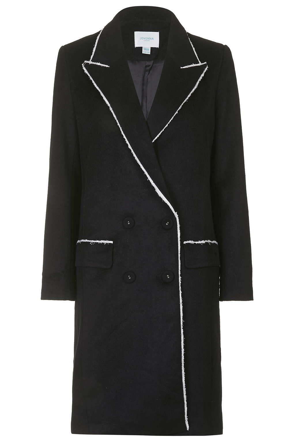 Photo 1 of **Royston Tailored Wool Blend Coat by Jovonna
