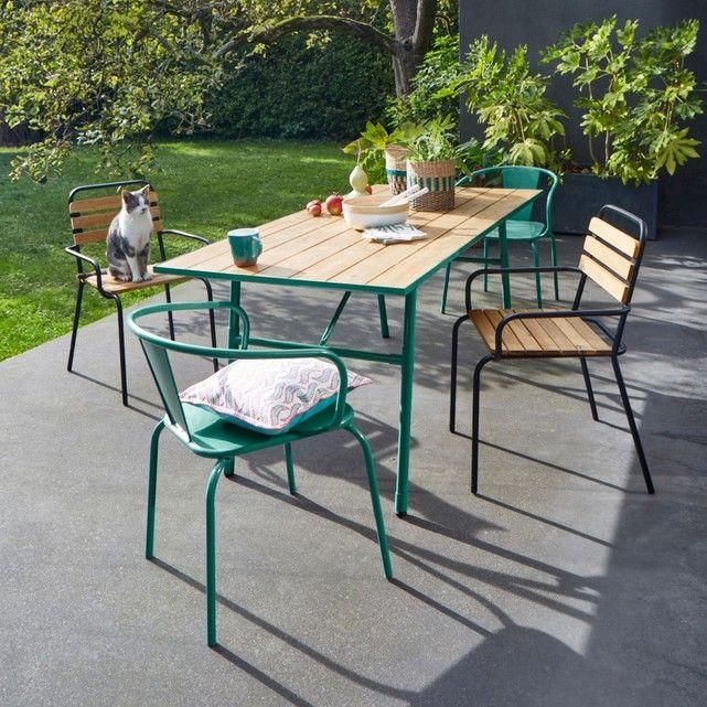 Table de jardin pliante Sohan | Mobilier outdoor | Table de ...
