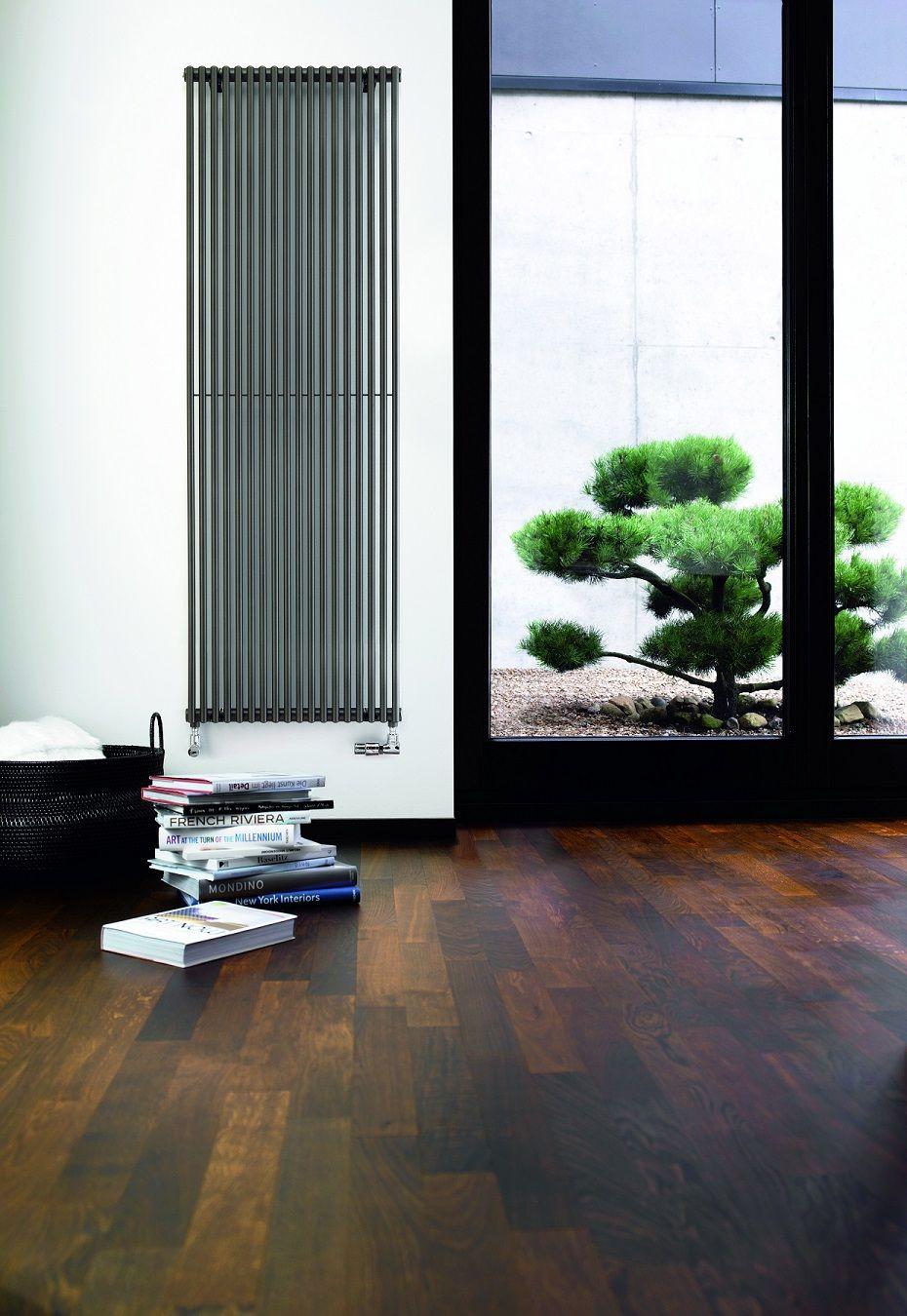 Designer Living Room Radiators: Vertical Radiators. Fine Lines.