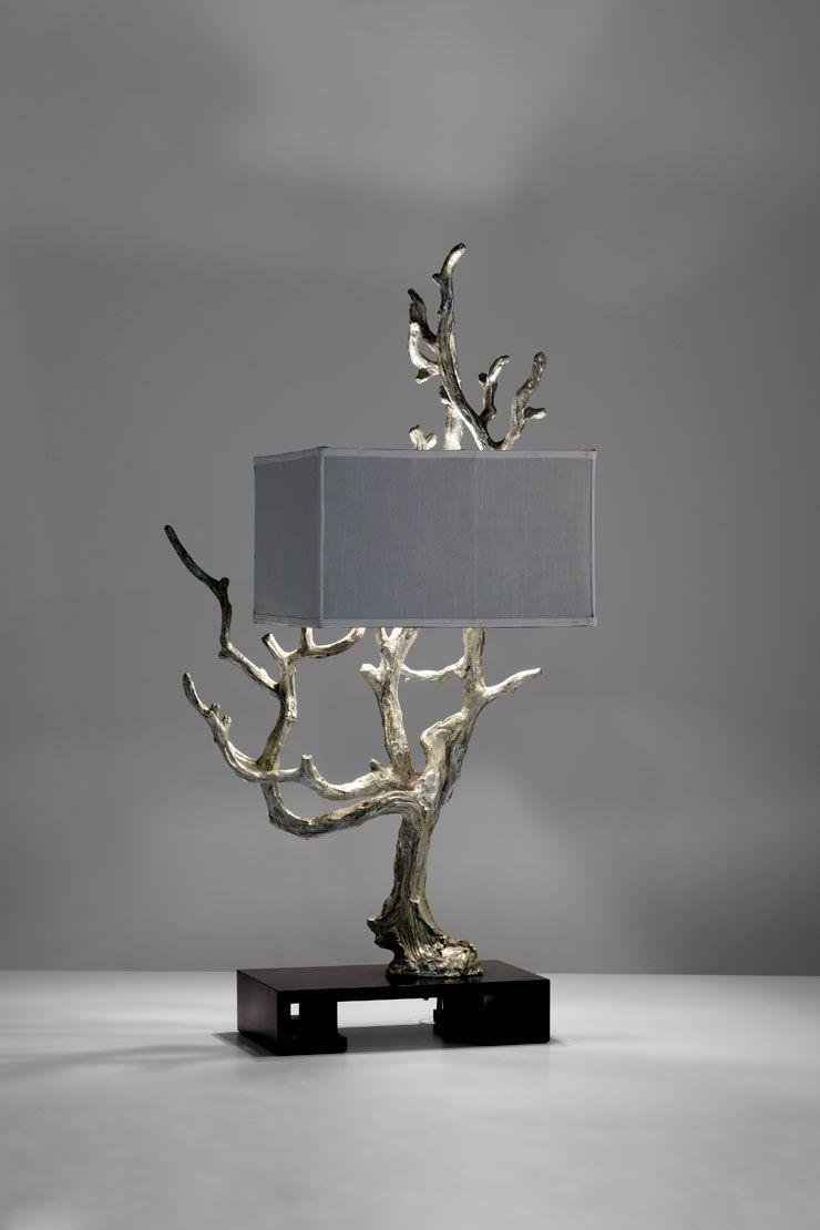wimpelkette holz branch lamp holz wood pinterest lampen beleuchtung und design. Black Bedroom Furniture Sets. Home Design Ideas