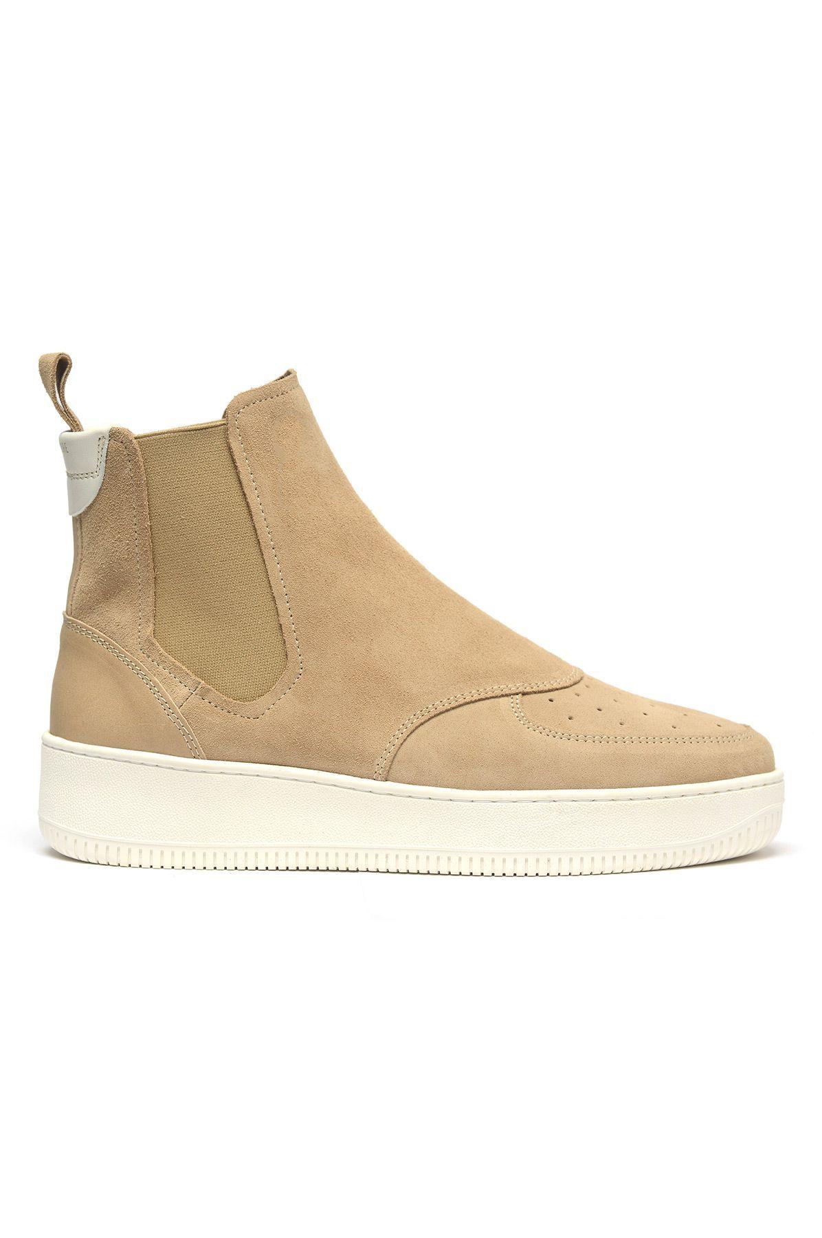 AIMÉ LEON DORE Q76 Sand Chelsea Boots