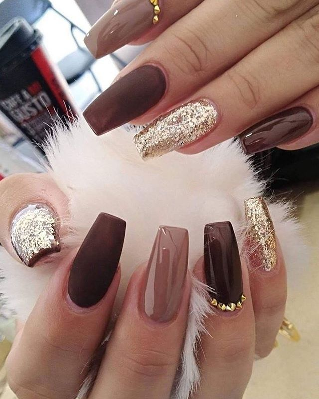 49 Best Glitter Nail Art Ideas For Glam Looks In 2020 Glam Nails Coffin Nails Designs Pretty Acrylic Nails