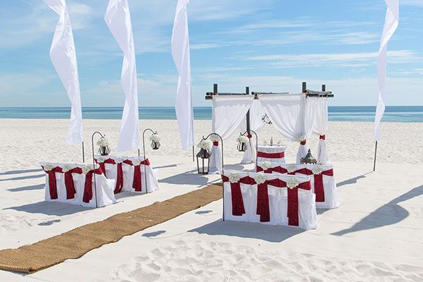 Beach Wedding Package Photo Gallery Beautiful Orange And Gulf Shores Alabama Packages