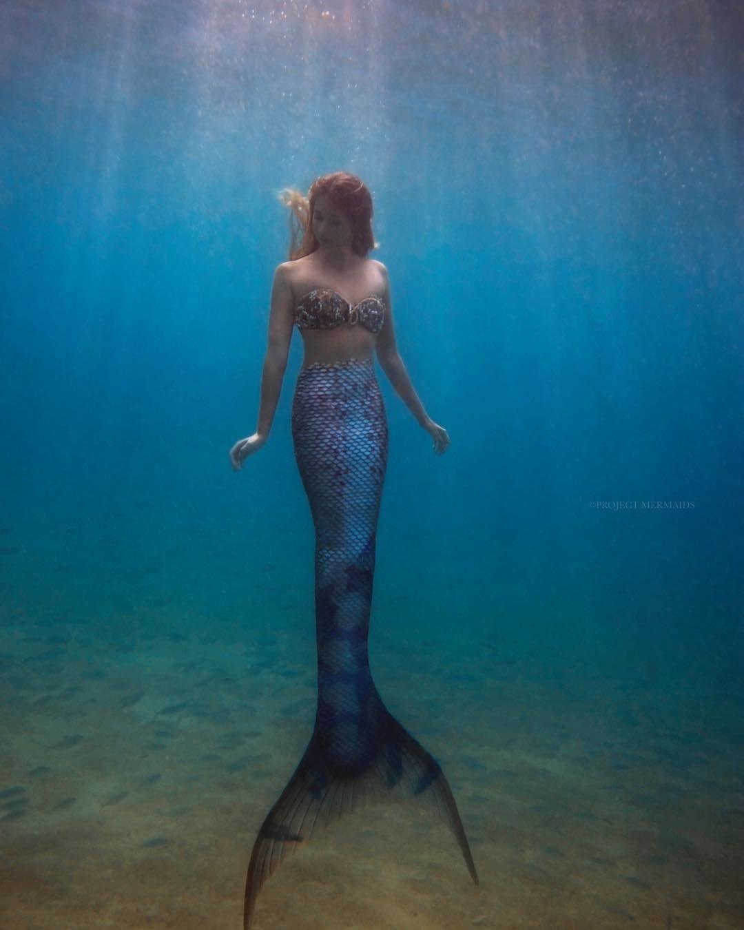 Beautiful Floating Real Life Mermaid Theme Mermaids Realistic Fairy
