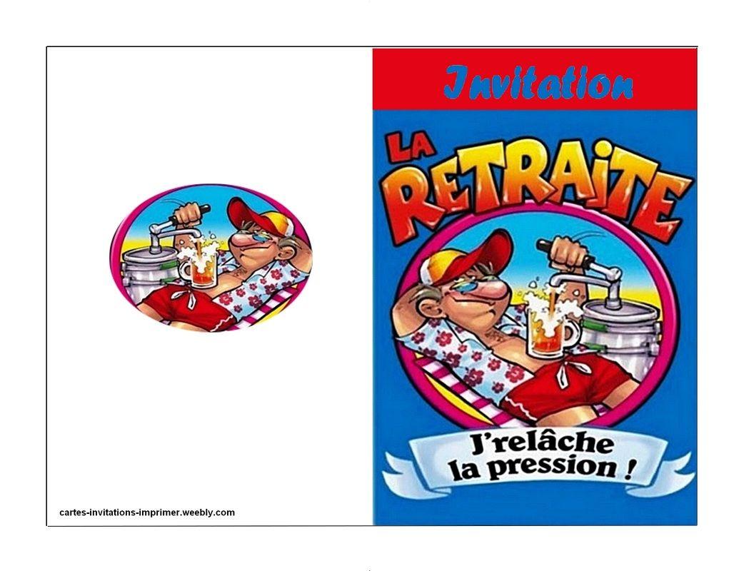 Pour Mon Depart A La Retraite Je Vous Invite Le 12 07 2018 A La Salle Des Fetes St Catherine A 19h Reponse S Carte Invitation Invitation Retraite Invitation