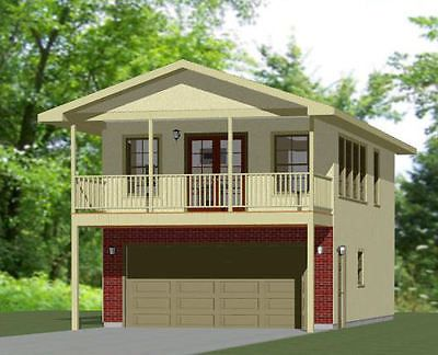 20x32 House 1 Bedroom 4 12 Roof Pitch Pdf Floor Plan Model 7g Garage Apartment Plans Tiny House Plans Floor Plans