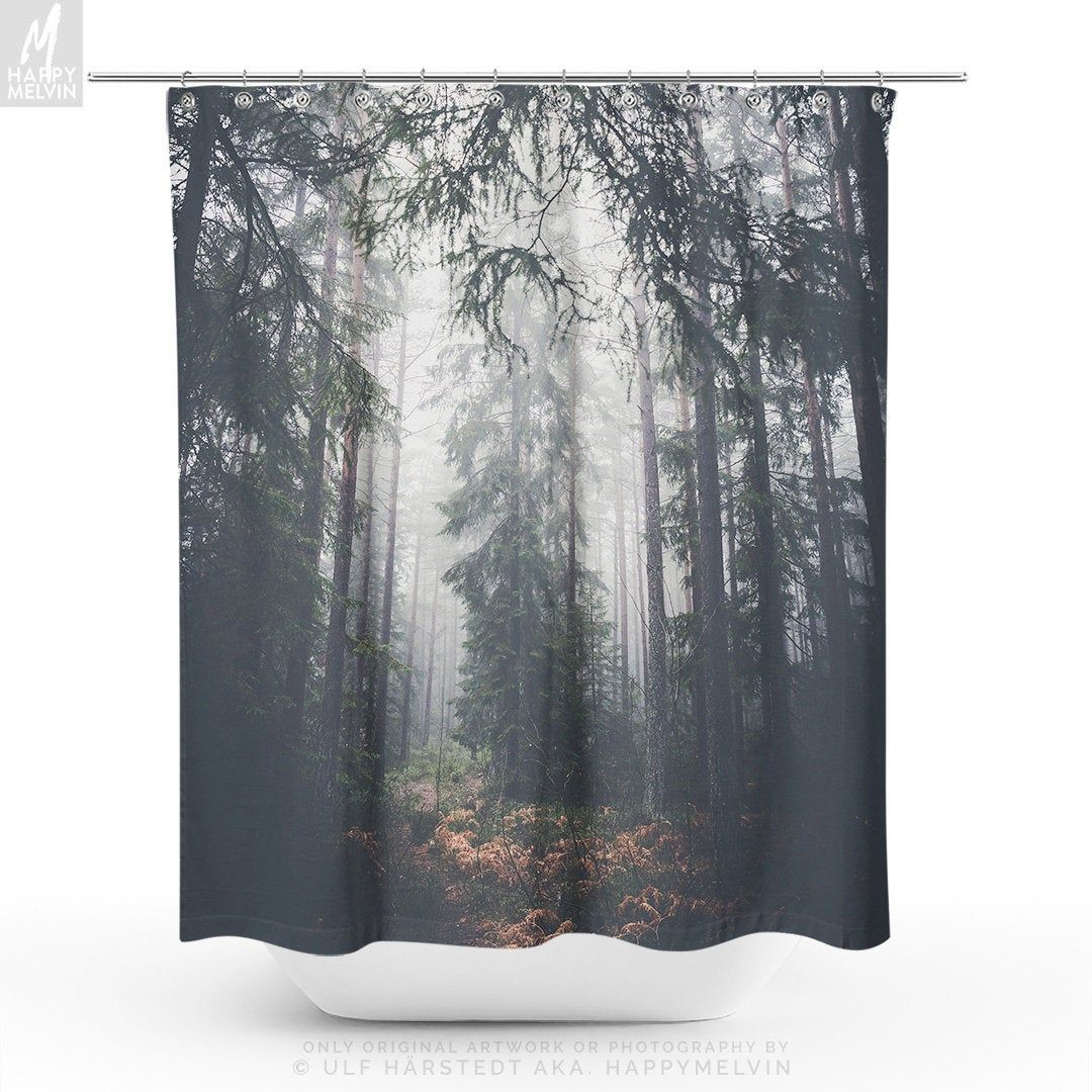 12 Awesome Initiatives Of How To Improve Nature Shower Curtain