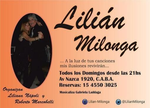 LilianMilonga en CABA