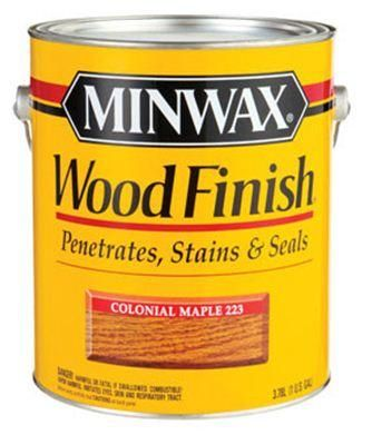 Minwax 71005 Interior Wood Finish Stain 1 Gallon Colonial Maple Staining Wood Wood Finish Farmhouse Wood Sign