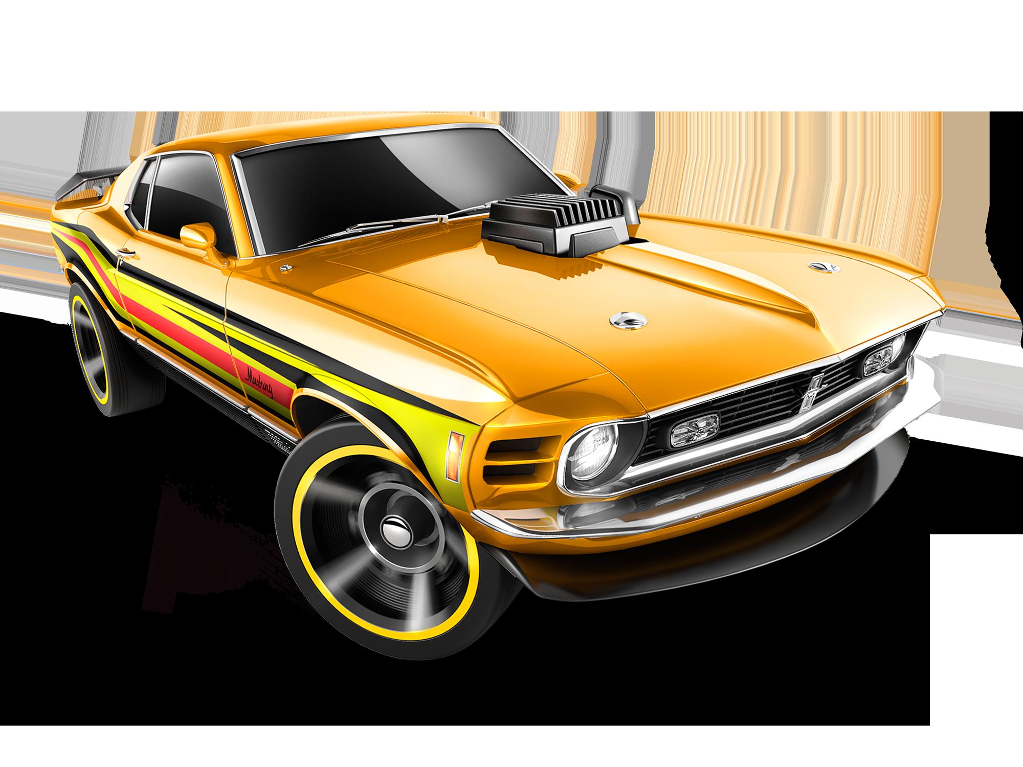 Mattel Hot Wheels Diecast Car 70 Ford Mustang Mach 1 2014 Yellow Ford Mustang Carros Hot Wheels Lavagens De Carro