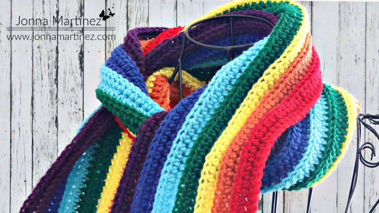 EASIEST Worsted SCARF EVER! How to Crochet a scarf