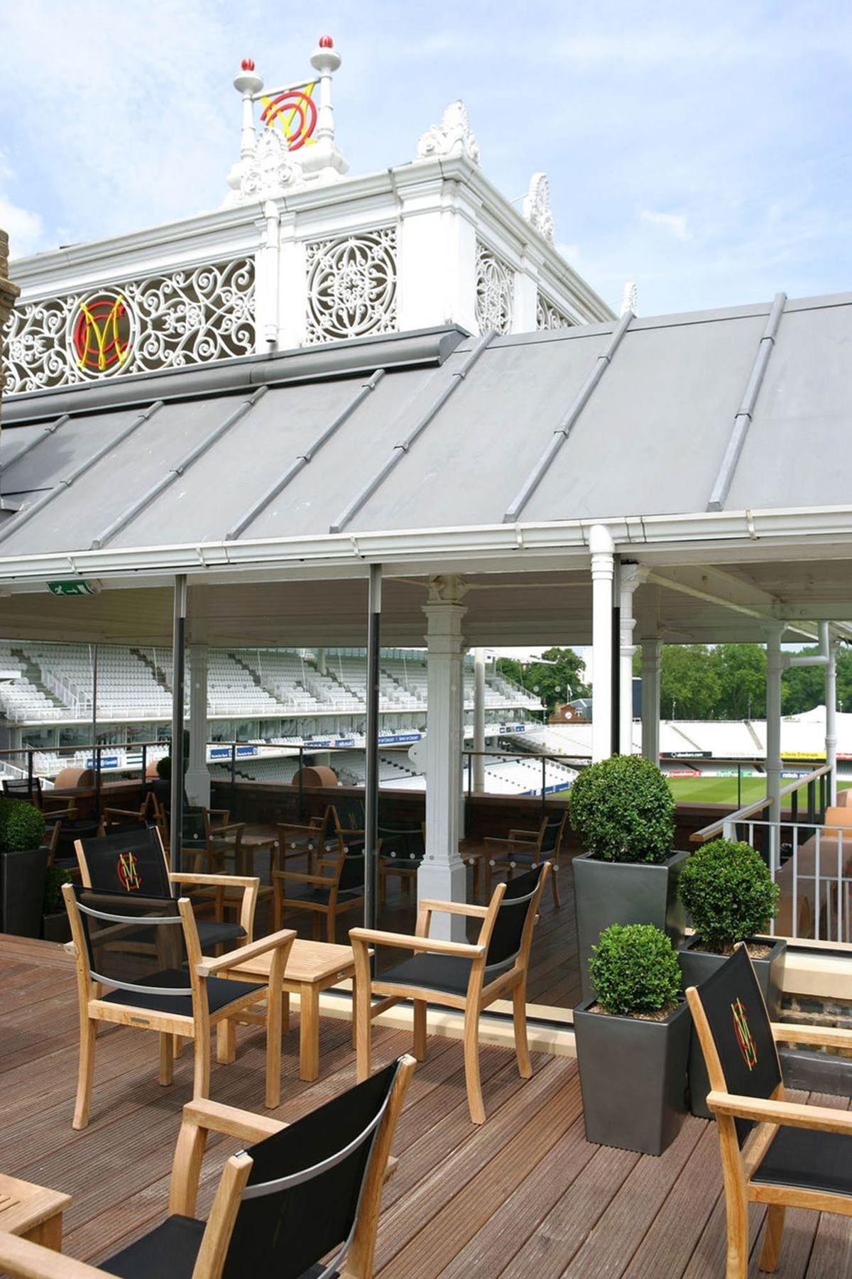 Captivating Pavilion Roof Terrace | Events | Lordu0027s Cricket Ground