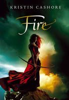 Fire - Book 2 in the Graceling series.  I really liked the 1st book, but was having a hard time getting into this one, at first.  Once you reach the middle, things start to get interesting.  Now I'm on to book 3:0)