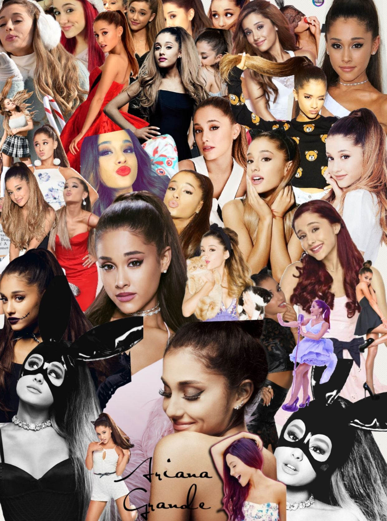 PicColage Ariana Grande (With images) Ariana, Ariana