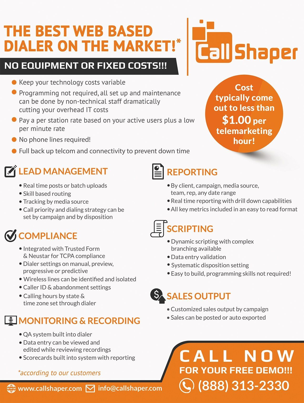 Callshaper  The Exceptional Call Center Software Solution  Software