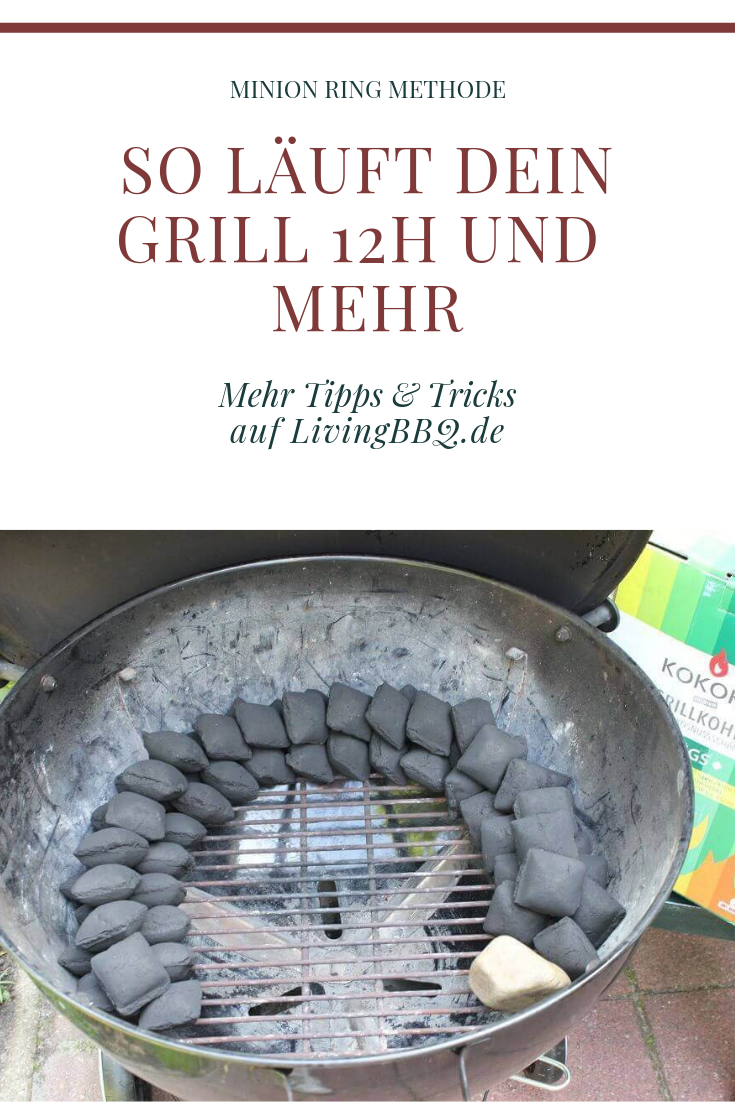 Photo of Minion Ring Method – This is how the grill runs for many hours! | LivingBBQ.de