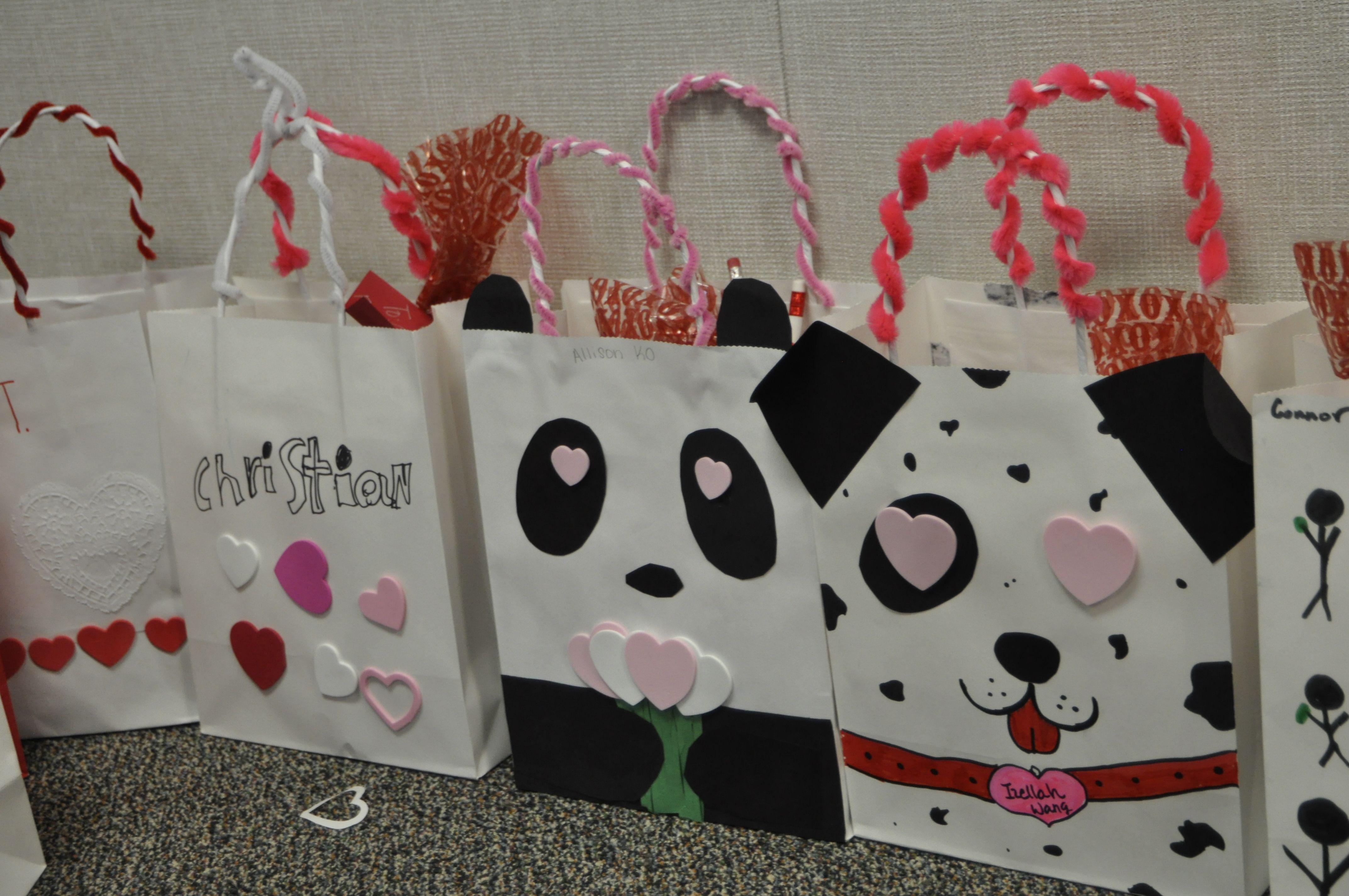 Panda Valentine S Bag 5th Grade