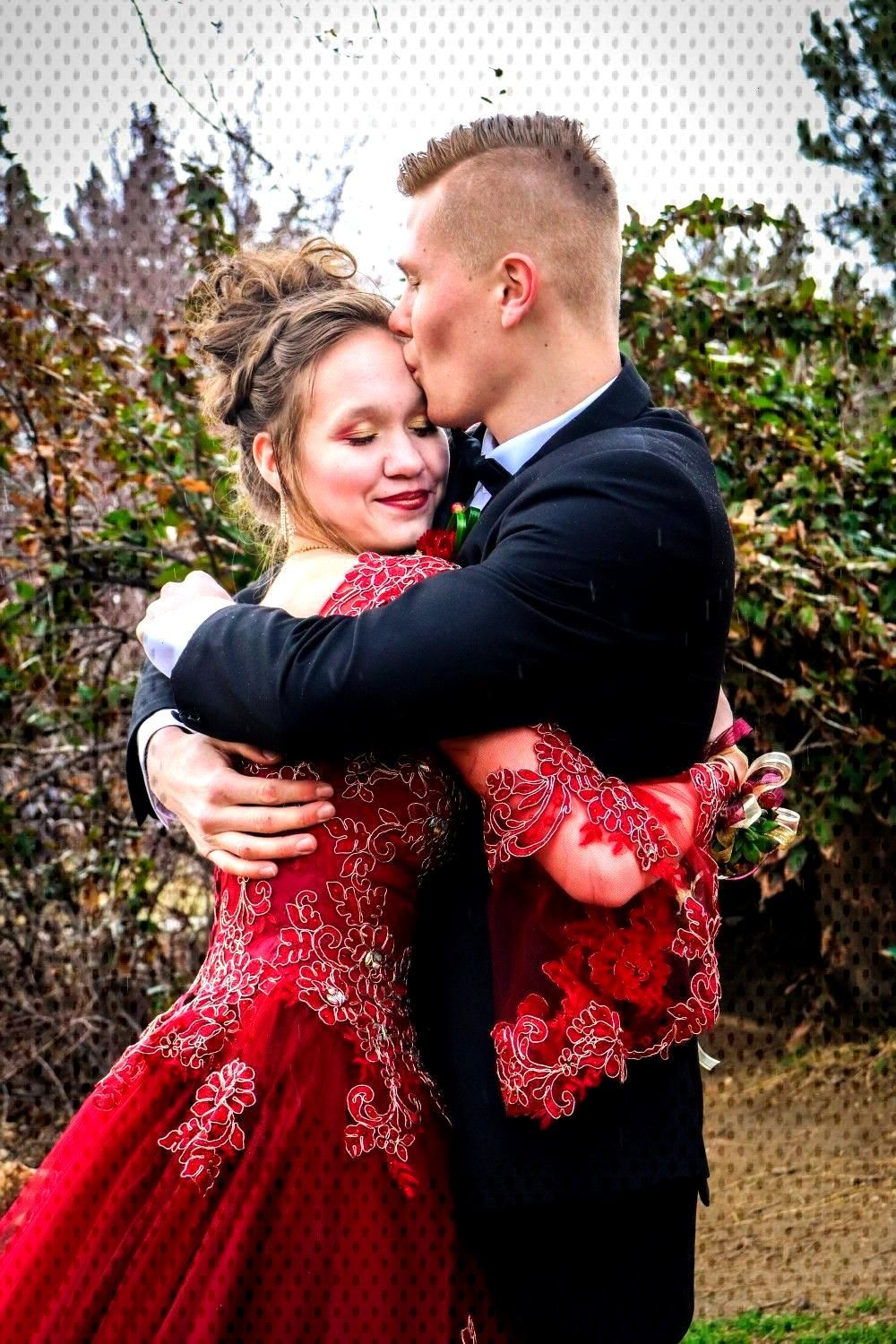 Couple Couple Photography during a High School Dance Shoot Spring 2019 by Cute Squirrel Photography