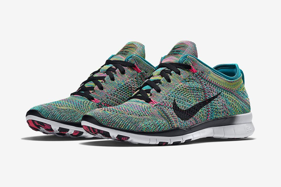 Nike Flyknit Libre 5,0 Tr Reflets Multicolores