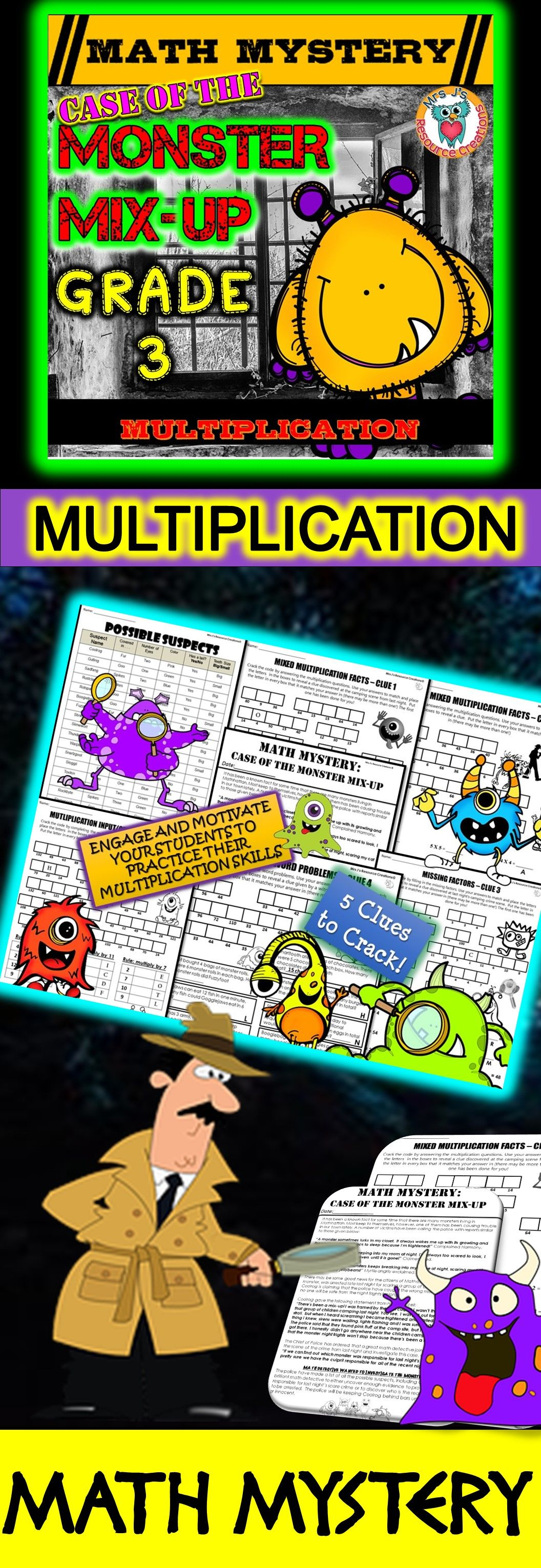 Multiplication Review Multiplication Facts 1 12 Amp Multiplication Word Problems