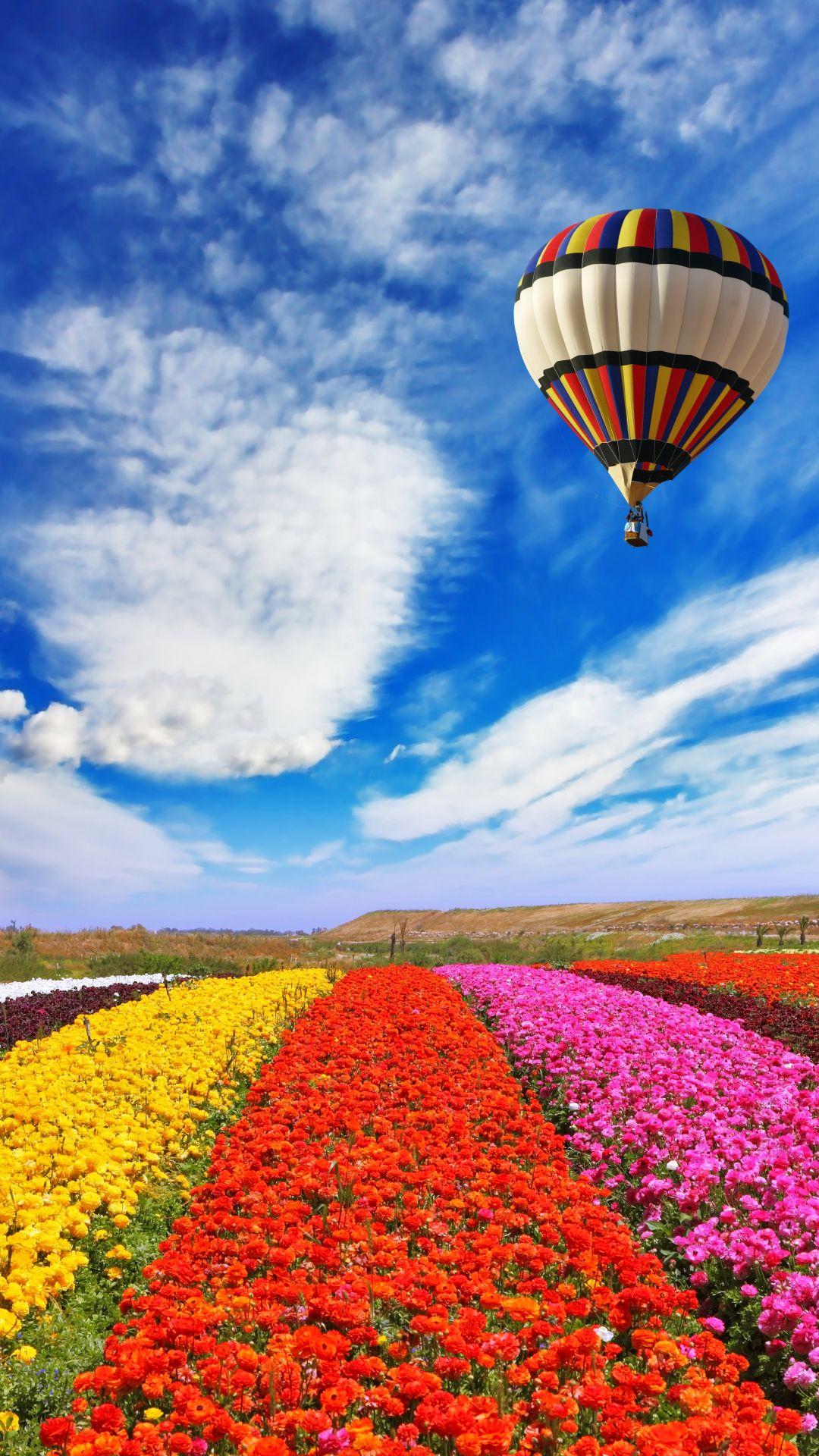 K Ultra HD Hot air balloon Wallpapers HD Desktop