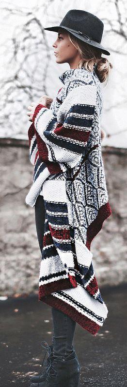 524ce925eb9d03468fcbe420b796d170 - Как носить джинсы зимой 2019: 50 модных идей