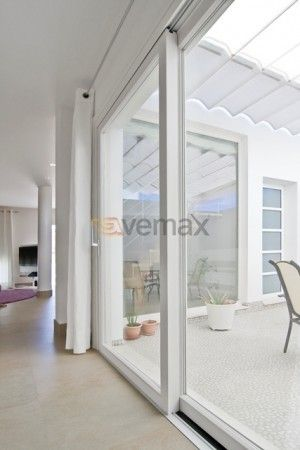 Precio de puertas corredizas de aluminio para exteriores