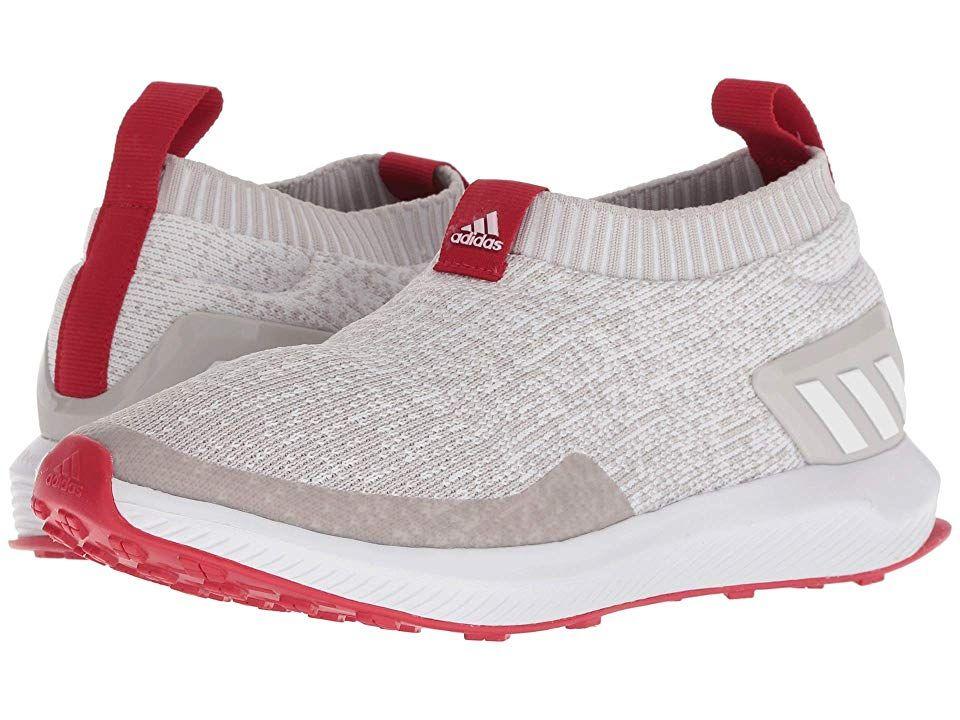 adidas Kids RapidaRun Laceless Knit (Big Kid) (WhiteChalk