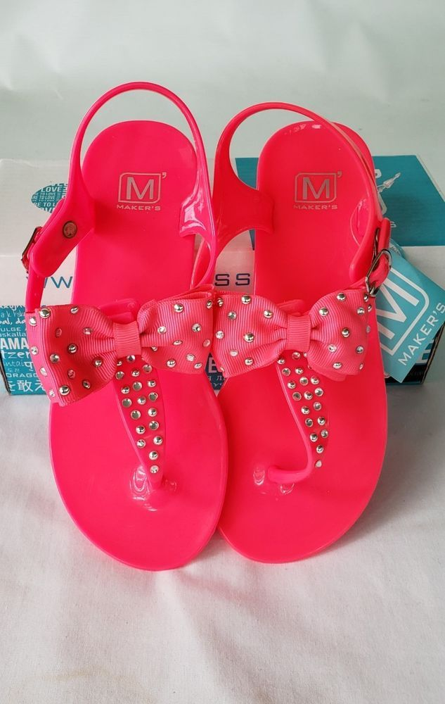 GYMBOREE Spring Dressy Easter Baby Girl Crib Shoes Sandals Pink Size 1 2 3  NEW
