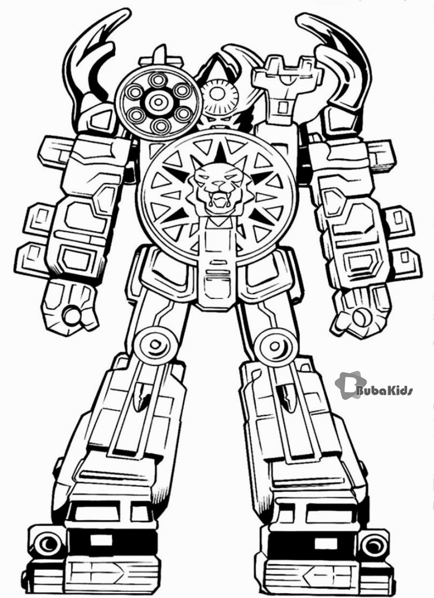 Power Rangers Megaforce Coloring Page Megaforce Power