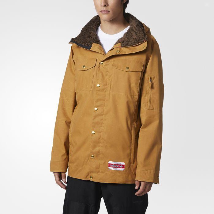 adidas Glisan Jacket Mens Snowboarding | Jackets, Mens