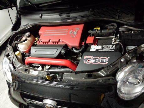 500madness Abarth CAI, ECM, Go Pedal, turbo blanket
