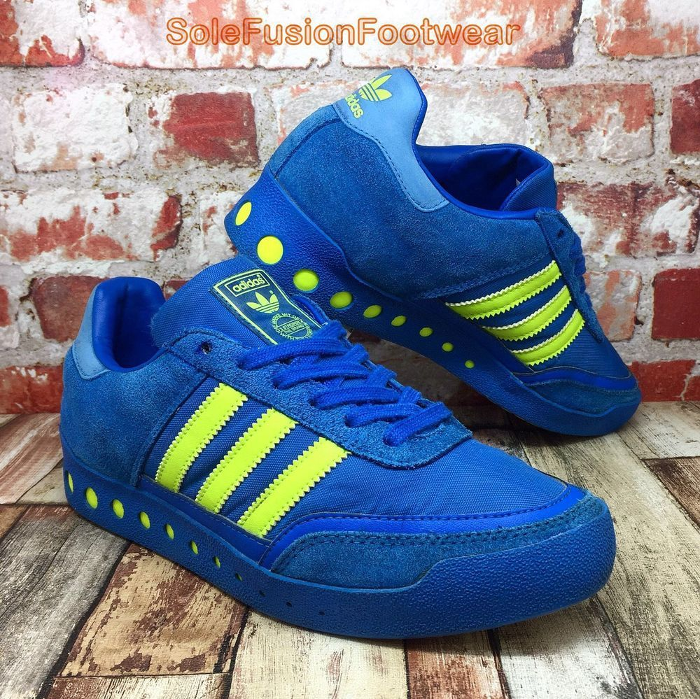 81497bb52 adidas Originals Mens PT 70s Trainers Blue Yellow sz 6 Sneakers US 6.5 EU 39  1 3