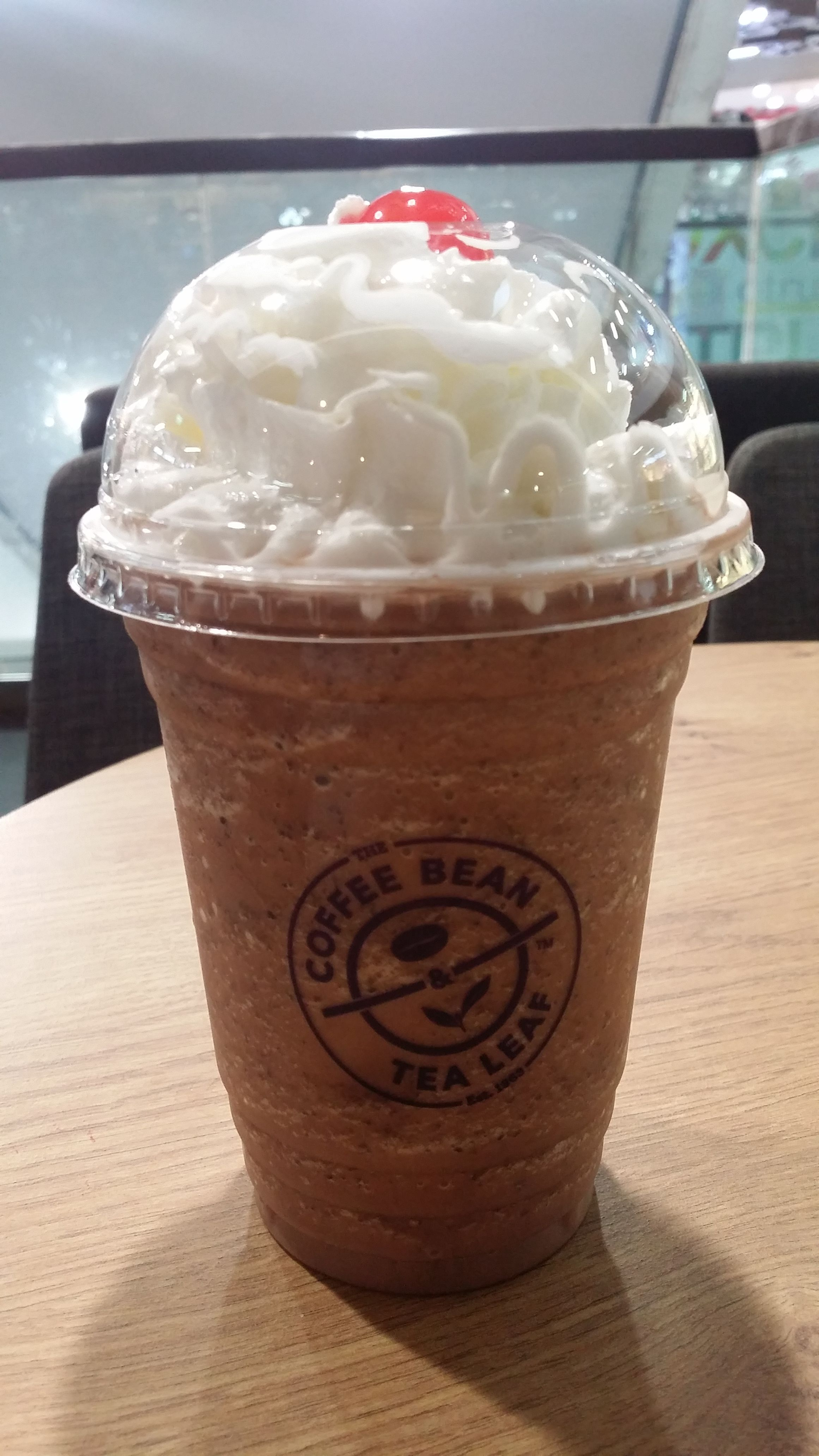 Black Forest Ice Blended Drink At The Coffee Bean Tea Leaf Blended Coffee Drinks Blended Coffee Fun Coffee Drinks