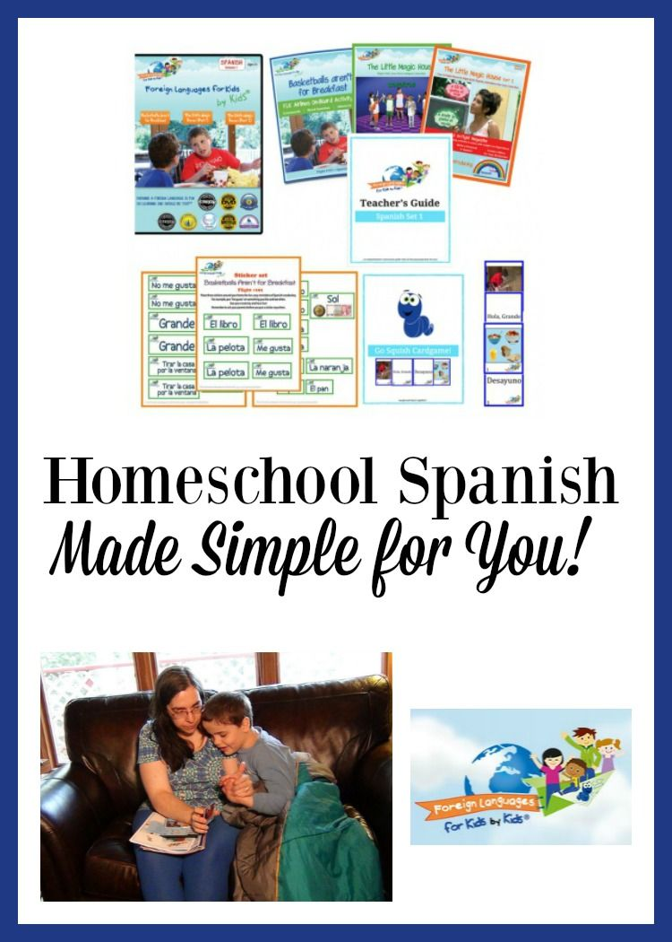 foreign languages for kids by kids: homeschool spanish   best of day