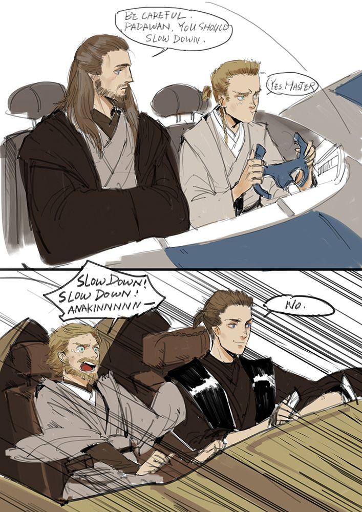 Bad padawan Anakin bad padawan | Star wars humor, Star wars
