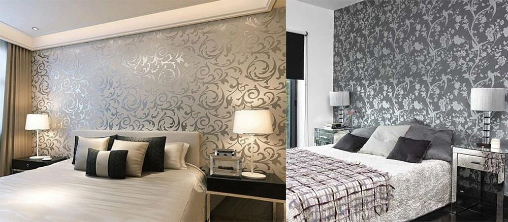 10 Wall Covering Home Decor Ideas I Top Trends 2020 Furniture In 2020 Wallpaper Living Room Decor Trending Decor