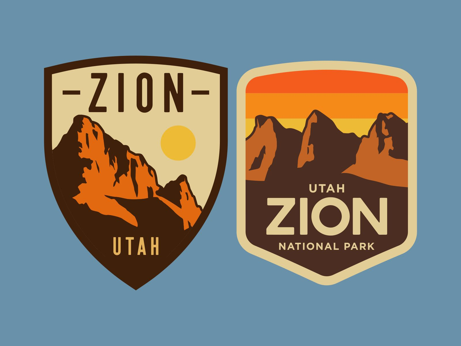 Zion Hat Patch Hat patches, Embroidery theme, Retro patch