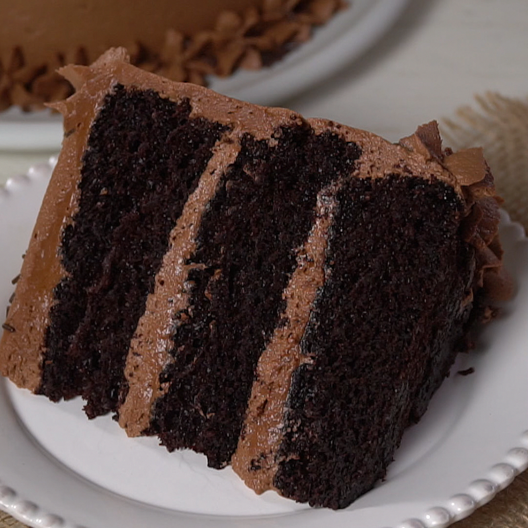 This simple Moist Chocolate Cake recipe is completely ...