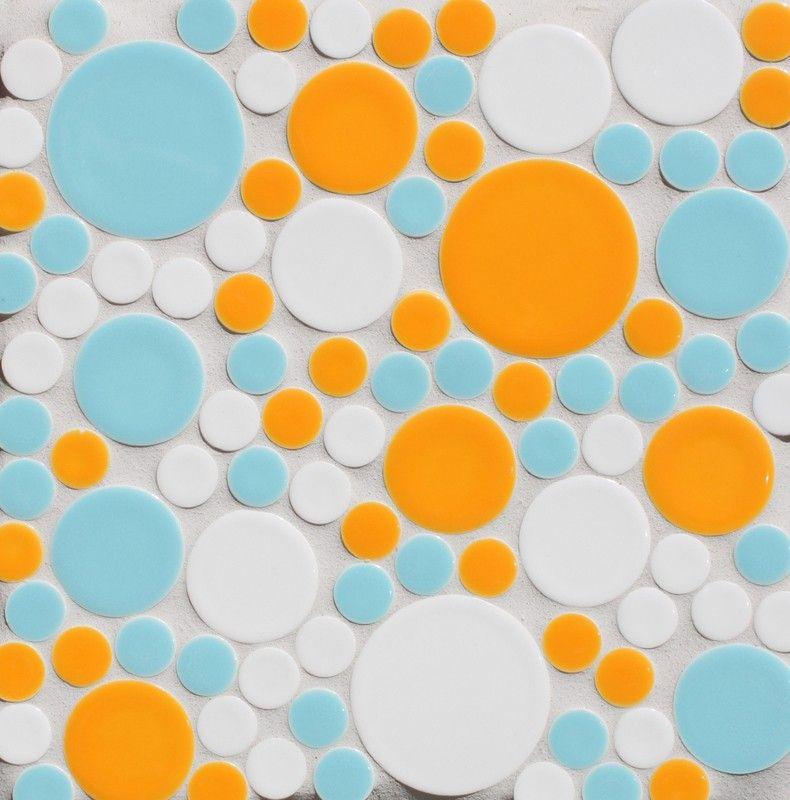 Assorted Circles (4 sizes) -Goldfish, Splash, Milk