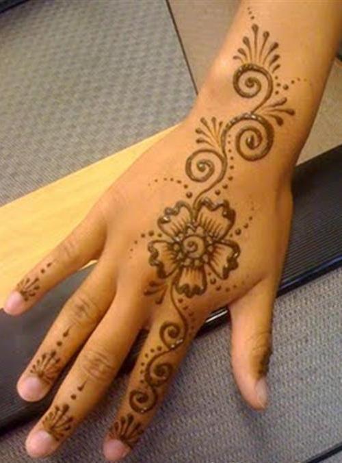 Simple Henna Simple Mehndi Designs For Hands 3 Henna Pinterest