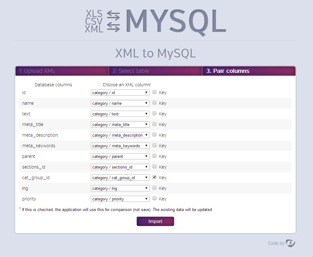Ultimate Db Import Export Csv Xls X Xml Mysql Texts