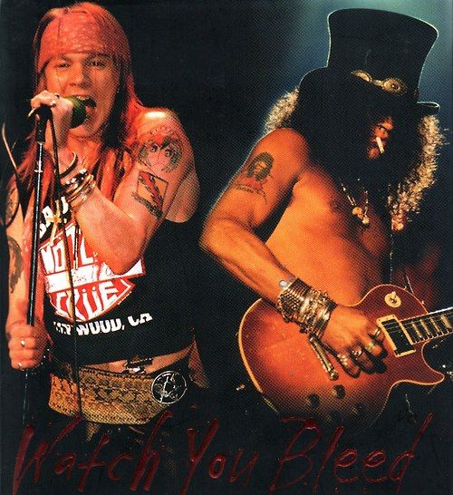 Axl Rose & Slash of Guns N' Roses, 1988