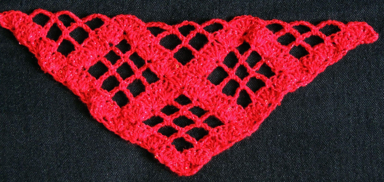 Crochet : Punto para Chal en \
