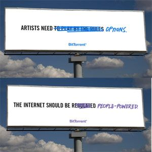 BitTorrent intenta sacarle los colores a la antipiratería con una polémica campaña