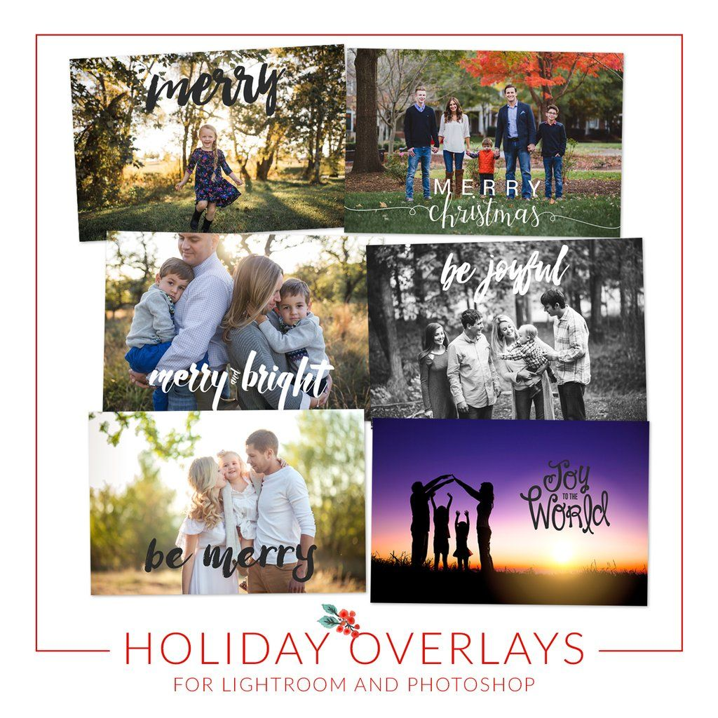 Free Christmas Overlays How To Create A Christmas Card In Lightroom Photoshop Christmas Card Template Lightroom Christmas Cards Free